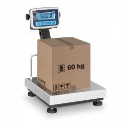 Waga platformowa - 60 kg / 20 g - legalizacja TEM 10200003 BEKO+LCD035x04060-B1