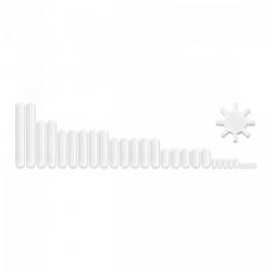 Mieszadełko magnetyczne - teflon - 30 szt. STEINBERG 10030262 SBS-STIR