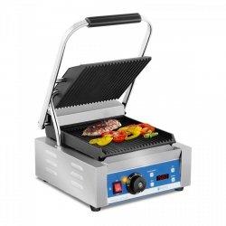 Grill kontaktowy - 1800 W - wyświetlacz LED ROYAL CATERING 10010574 RCKG-2200-GY