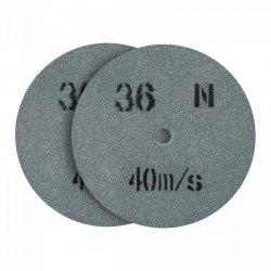 Tarcza do szlifowania - ziarnistość 36 - 200 x 20 mm - 2 szt. MSW 10060805 MSW-GW-200/20-36