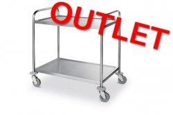 OUTLET | Wózek 2-półkowy HENDI 810002 HENDI 810002 810002