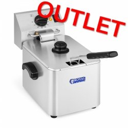 OUTLET | Frytownica 8 litrów termostat E.G.O.