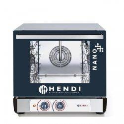Piec konwekcyjny HENDI NANO – 4x 450x340 mm - elektryczny, sterowanie manualne HENDI 223376 223376