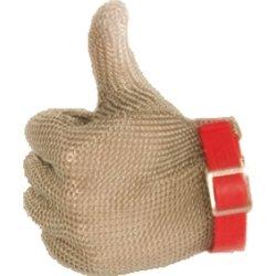 Rękawica stalowa czerwona M STALGAST 240001 240001