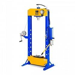 Prasa hydrauliczno-pneumatyczna - 30 t - 666 bar MSW 10060302 MSW-WP-30T-P