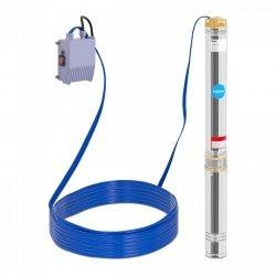 Pompa głębinowa - 1100 W - do 101 m - stal nierdzewna Hillvert 10090121 HT-ROBSON-SP1100-101