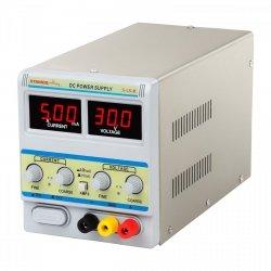 Zasilacz laboratoryjny - 0-30 V - 0-5 A DC STAMOS 10021001 S-LS-8
