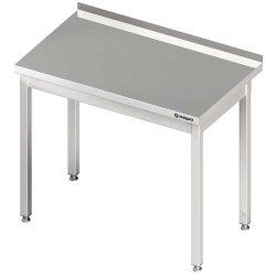 Stół przyścienny bez półki 800x600x850 mm spawany STALGAST 980016080S 980016080S