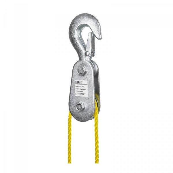 Zblocze do wyciągarki - 2000 kg MSW 10060091 MSW-UR-2