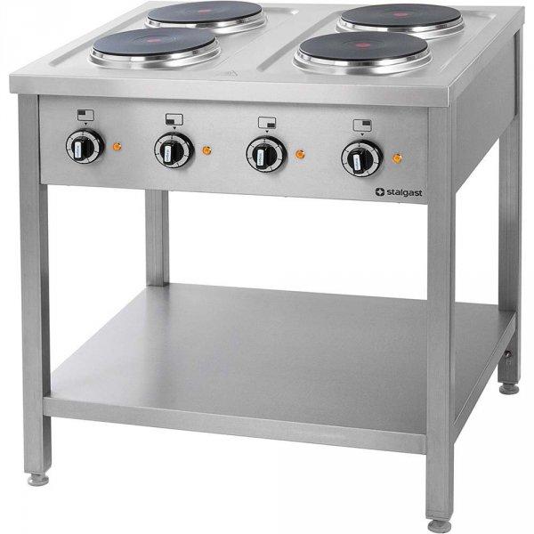 Kuchnia elektryczna wolnostojąca 4x2,6 kW STALGAST 979500 979500