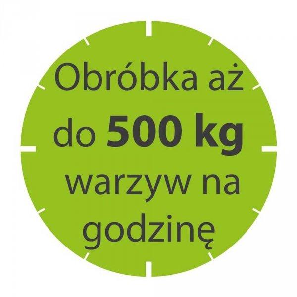 Szatkownica do warzyw CL50 550 W 400V375 obr/min 20-300 posiłków STALGAST 713501 713501