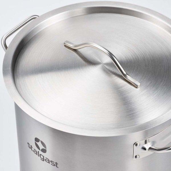 Garnek średni d 320 mm 16,1 l z pokrywką STALGAST 012325 012325