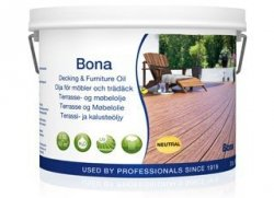 Bona olej do zewnętrznych powierzchni drewnianych i mebli szary 2,5l