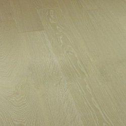 Deska podłogowa warstwowa - Dąb Wanilia  Classic 14x150x1000-1400mm fazowana,szczotkowana, lakierowana
