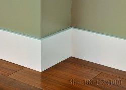 Cokół MDF Slim 100 12x100x2620mm biały