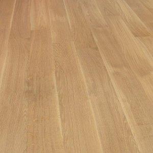 Deska podłogowa warstwowa - Dąb Sahara  Classic 14x150x1000-1400mm fazowana,szczotkowana, lakierowana