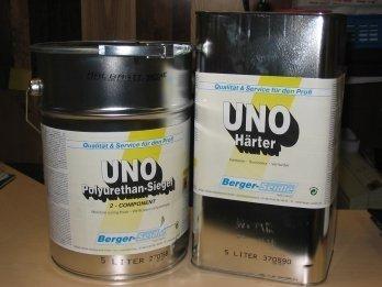 Berger-Seidle UNO półmat 5l składnik A masa