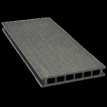 Deska tarasowa GAMRAT - kompozytowa ryflowana 25x160x4000 Grafit Wersja M