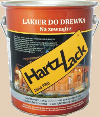 Hartzlack lakier na zewnątrz Alkid PRO 0,75l