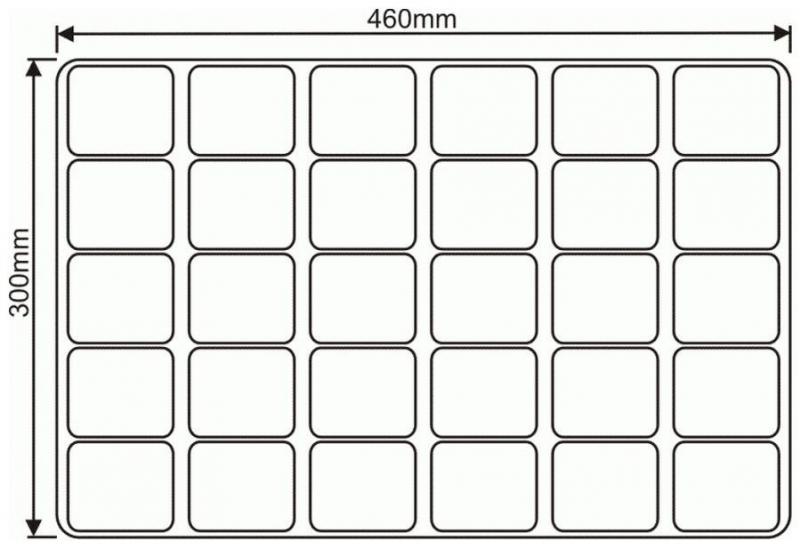 WIELODONICZKA 61/30 paleta rozsadowa 30 doniczek