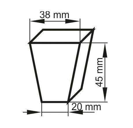 MINISZKLARENKA 52x16cm 36 doniczek + podłoże