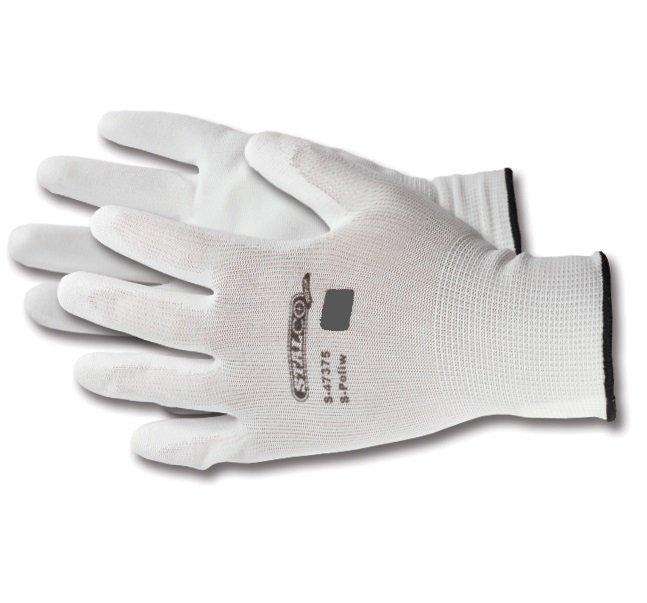 Rękawice S-Poli W białe