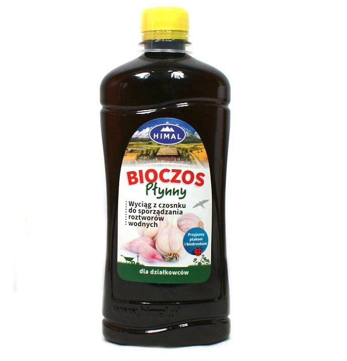 BIOCZOS płynny wyciąg z czosnku HIMAL 0,5 L