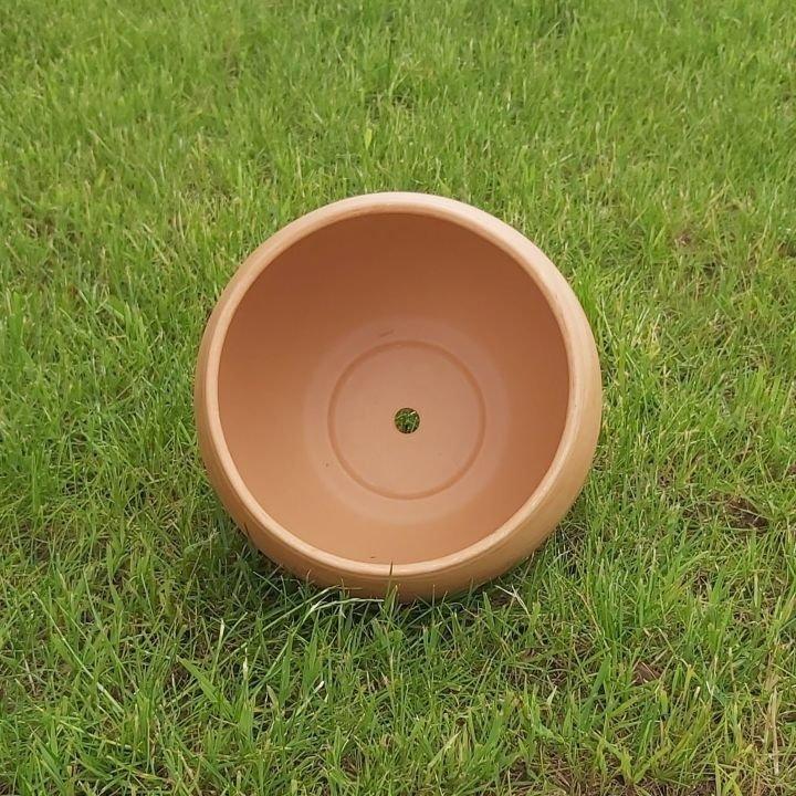 DONICZKA GLINIANA KULA ceramiczna z gliny 23cm