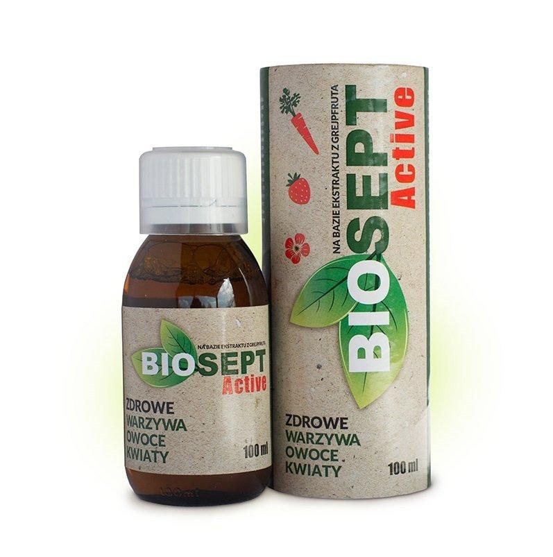 BIOSEPT Active wyciąg z grejpfruta 100 ml