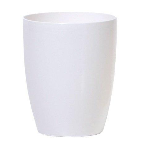Doniczka storczyk 16 cm biała