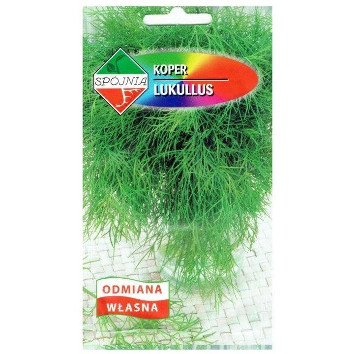 Koper ogrodowy LUKULLUS nasiona 5 g Spójnia