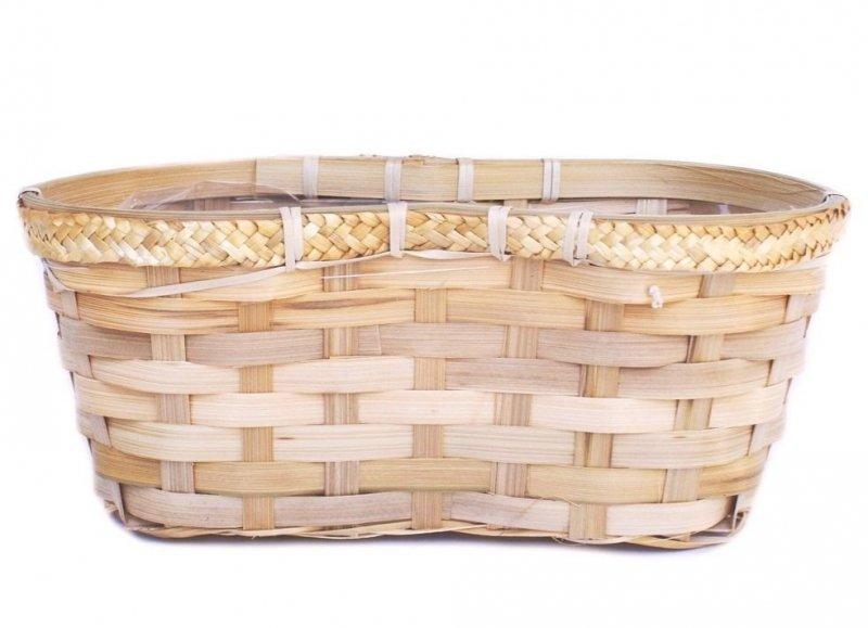 Doniczka bambusowa podwójna