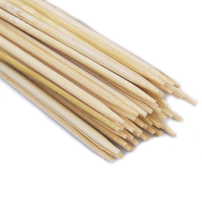 SZPILKI BAMBUSOWE 50cm patyczki z bambusa 100szt.