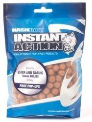 Nash INSTANT ACTION 15mm 200g - Liver and Garlic