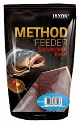 Jaxon Zanęta Method Feeder Ready 750g Halibut Czarny
