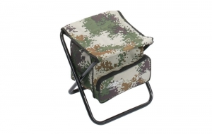 Mikado Stołek Składany z Torbą Digital Camouflage Max. 100kg