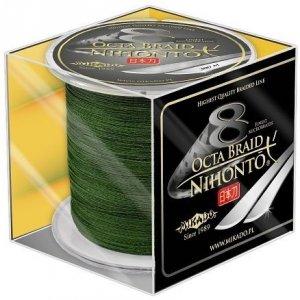 Mikado Plecionka NIHONTO OCTA BRAID 0,18mm Green