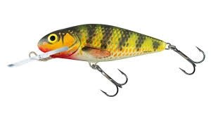 Salmo Wobler Perch Deep Runner 8cm/14g Holographic Perch