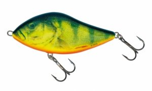 Salmo Wobler Slider 10cm/46g Real Hot Perch