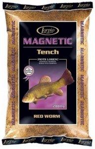 Lorpio zanęta Magnetic Tench Lin Red Worm 2kg