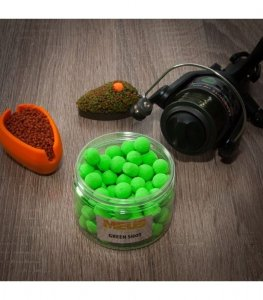 Meus Kulki Pop up Fluo Challenge 15mm Green Shot