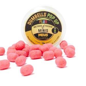 Meus Dumbells Fluo Pop-up 8mm Bubble Gum Minis