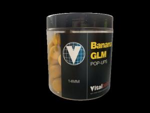 Vitalbaits Kulki Pop-up Banana GLM 14mm 80g