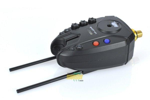 Monster Fishing Zestaw Sygnalizatorów Brań MF-2014B/K-RGB 3+1