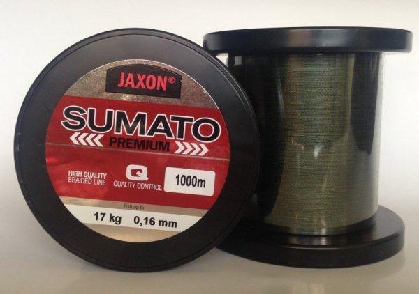Jaxon plecionka SUMATO Premium 0,14mm/15kg 1000m
