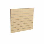 Panel sklepowy KLON ze wsuwkami aluminiowymi 100 x 90 cm F10