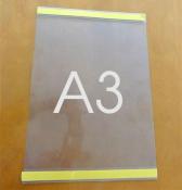 Kieszeń samoprzylepna plakatowa A3