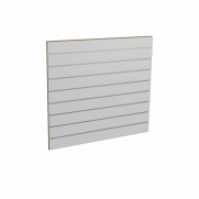 Panel sklepowy SZARY ze wsuwkami aluminiowymi 100 x 90 cm F10