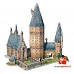 Harry Potter - Puzzle 3D Wielka Sala Hogwart 850 el.