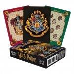 Harry Potter - Karty do gry herby domów Hogwart
